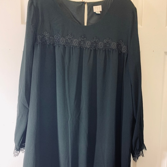 andeawy Dresses & Skirts - Soft Lace-Trimmed Dress